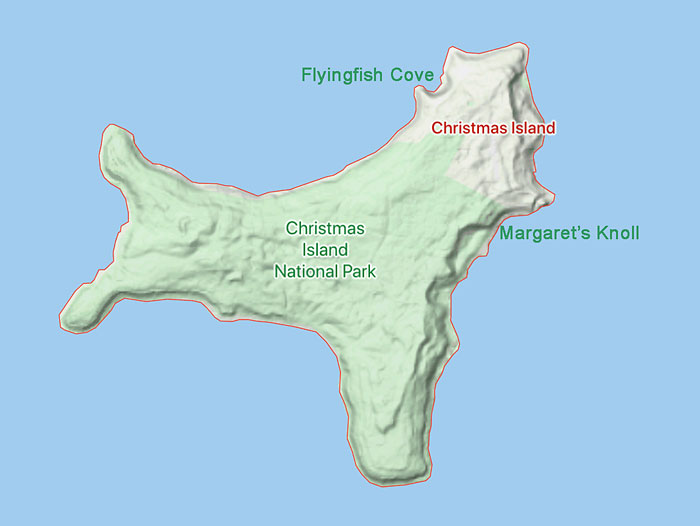 Image of Christmas Island Map christmas_island_map