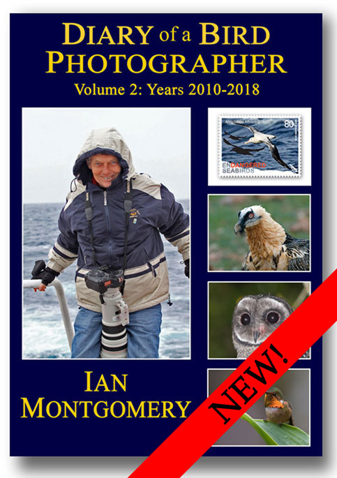 Cover of book Diary of a Bird Photographer Volume 2